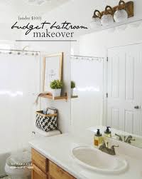 Cheap Bathroom Makeover Classy BUDGET BATHROOM MAKEOVER My Fabuless Life