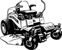 commercial lawn mower silhouette. lawn mower mowing silhouettes clipart kid 2 commercial silhouette o