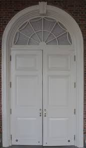 white wood door texture. Colonial White Door With Window Arch Wood Texture T
