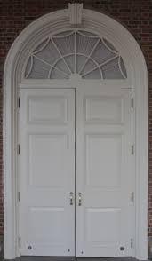 white wood door texture. Colonial White Door With Window Arch Wood Texture
