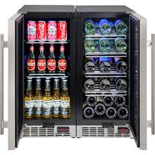 wine and beer fridges matching