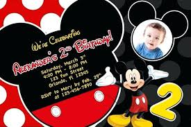 mickey mouse party invitation mickey mouse po birthday invitations invitation cards