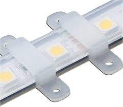 VIPMOON <b>100pcs</b> /<b>lot</b> LED Strip Connector Silicon Fastener Clip for ...