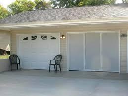 single garage screen door breezy single garage door screen with zipper larson retractable single garage door