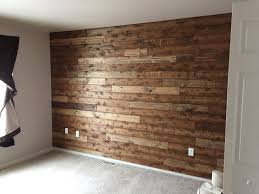 You are only a day away from your very own wooden accent wall! Here's how