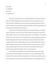 julius caesar persuasive essay maria hight pre ap english mrs  2 pages poem contrast essay