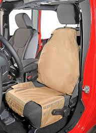 smittybilt front g e a r seat cover for 76 18 jeep cj wrangler yj tj jk tj unlimited wrangler unlimited jk quadratec