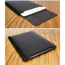 soyan microfiber pu leather sleeve pouch with mouse pad for 13 inch macbook air