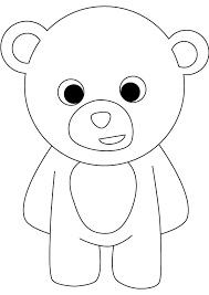 Small Picture Teddy Bear Coloring Pages Teddy Bear Coloring Pages In Cartoon