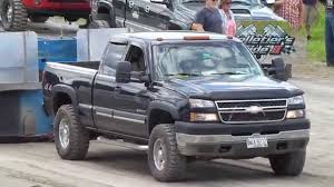 2005 Chevy 2500 HD 6.0L Truck Pull - YouTube