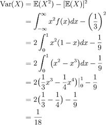 Variance Formula 2 8 Expected Value Variance Standard Deviation Math