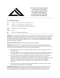 Job Proposal Sample Sample Proposal Letter for A New Job Position 1