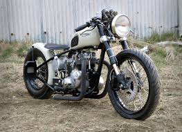 oily rag triumph bobber the bike shed