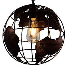 new pendant lighting. Earth Shape Globe Coppery Chandelier -Battaa CTI8041 ( 2017 New Design ) Industrial Vintage Style Pendant Lighting W