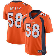 Broncos Youth Nfl Wholesale Jersey Von Cheap Free Authentic Jerseys Miller Shipping Women's
