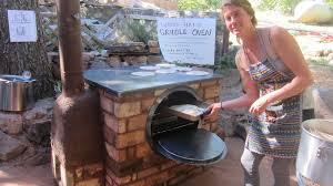 rocket fired griddle oven