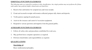 Awesome Collection Of Resume For A Cashier Job Easy Cashier Job