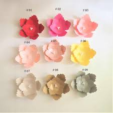 Paper Flower Decor Detail Feedback Questions About 15cm Cardstock Rose Diy Easy Paper