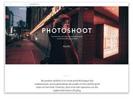 Professional Photographer Website Design 40 Best Photography Website Templates 2020 Themefisher