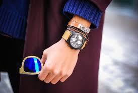 trend to wear bracelet and watch together on same wrist for men men wearing bracelets collection watch 2