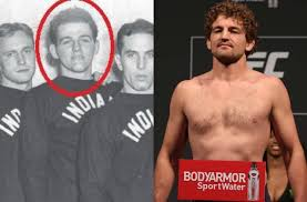 1yr · kimovin · r/ufc. Ben Askren Freakishly Resembles 1940s Indiana Wrestler In Photo