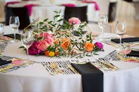 Round Table Settings For Weddings The Anatomy Of A Wedding Table Setting