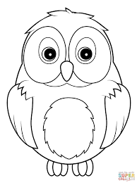 Owl Color Pages Printable Coloring Pages