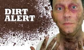 creating dirt effects for film and tv