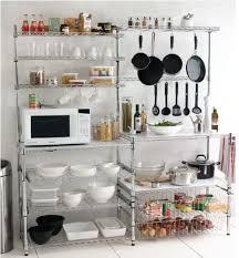 metal kitchen shelves