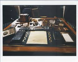 oval office desk replica. Photograph, Replica Of John F. Kennedy\u0027s Desk In The Oval Office As Part Traveling Exhibit