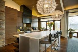 modern pendant lighting kitchen. modern pendant lighting kitchen island using bright white fluorescent bulbs above formica laminate countertops nearby leather o
