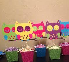 Owl Baby Shower Customer Party  Swish PrintablesOwl Baby Shower Decor