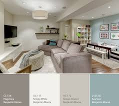paint colors for basementsa calming palette for a basement