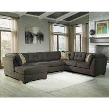 Ashley Furniture Delta City Sectional in Steel