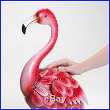 garden flamingos. Metal Yard Flamingos Outdoor Garden Statues Lawn Decor Pink Patio Decoration Set