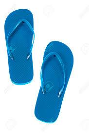 Light Blue Flip Flops Vertical Shot Of A Pair Of Blue Flip Flops On A Light Table