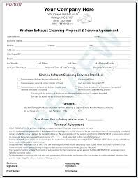 Cleaning Service Contract Sample Cleaning Contract Cleaning Cleaning ...
