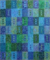 174 best Batik quilts images on Pinterest | Crafts, Curtains and ... & Zen Quilt Pattern, Blue Underground Studios, DIY Quilting by Amy Walsh, Fat  Quarter Friendly Adamdwight.com