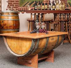 wine barrel coffee table for unique coffee table reclaimed wood barrel coffee tablediy wooden