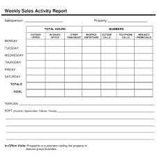 Weekly Activity Report Template Beauteous Hr Monthly Report Template Word Safety Format In Activity Report