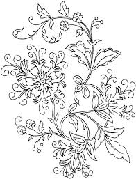 Small Picture Free Flower Coloring Pages For Adults Slippinsliders 15130