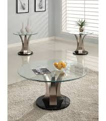 2 pc coffee table set by platinum collection