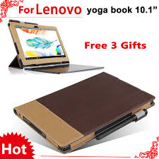 yoga book flip cover for lenovo yoga book 2018 10 1 tablet case protective s can put keyboard screen film in tablets e books case from puter