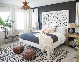 modern bohemian bedroom decorating ideas 16