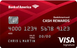 Credit card referral bonuses pay you a bounty in the form of miles, points, or cash back after your referred friend or relative is approved for a new account. Bankamericard Cash Rewards Card Referral Bonus 50 Statement Credit