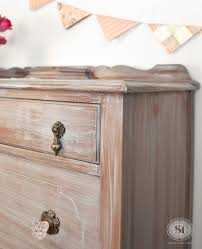 Paint Wash On Wood Wash Dry Dresser Bluestone House Valentines Giveaway