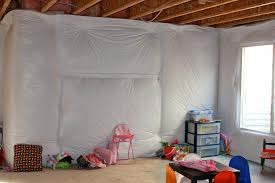 Fancy Unfinished Basement Ideas Low Ceiling And Pa X - Painted basement ceiling ideas