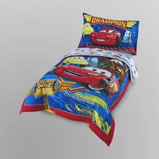 Disney 4 Pc Toddler Boy s Bed Set Cars