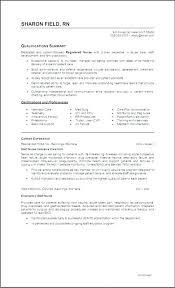 New Rn Graduate Resumes Nurse Resume Objective Sample Practitioner