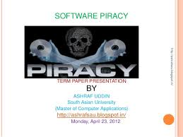 piracy essay software piracy essay